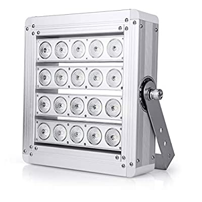 Hyperikon Pro LED Stadium Light, 200W Flood Light, Super Bright Outdoor Arena Flood Light, (800W-1000W Equivalent), Crystal White 5000K, 32000 lumens, IP67 Waterproof