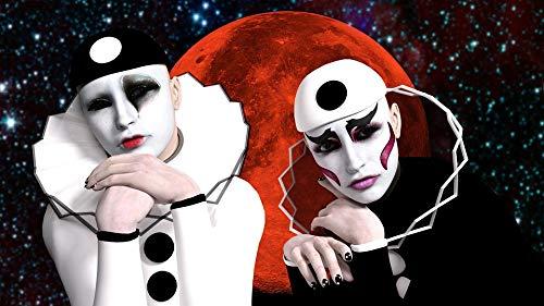 Photography Poster - Pierrot, Masks, Luna, Melancholy, 24