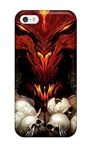 HessMasonn Premium Protective Hard Case For Iphone 5/5s- Nice Design - Diablo Iii