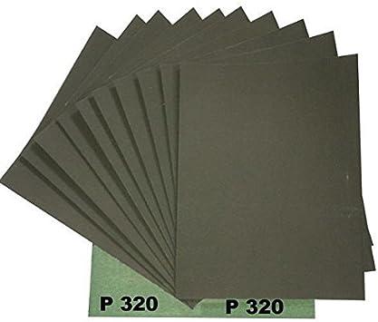 Hilka 68902430/Feuilles de papier abrasif assorties