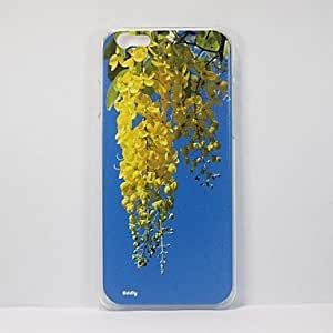 DD - Enjoy and Appreciate the Natural Scenery - A Photo of Golden Shower Tree Printed on a PC Hard Case for iPhone 6