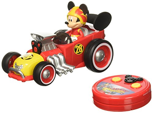 Jada Toys Disney Mickey Roadster Racer RC Vehicle]()