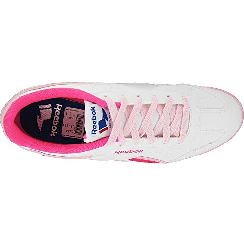 Reebok - Royal Attack - M46425 - Color: Blanco-Rosa - Size: 36.5