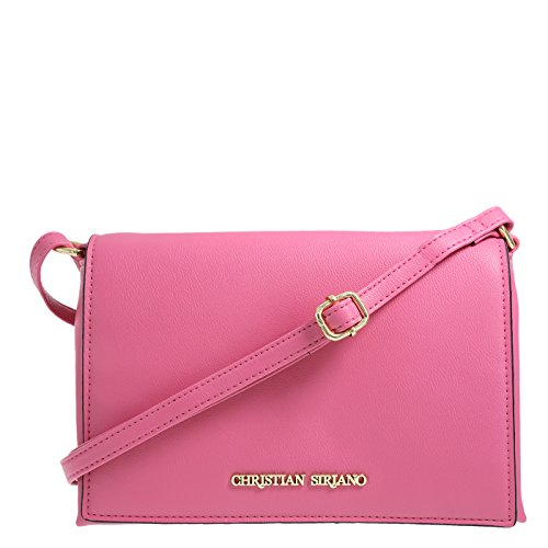 Christian Siriano for Payless Tumbled Watermelon-Pink Women's Karessa Crossbody one size Regular
