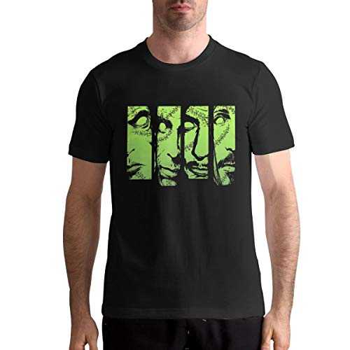 Patricia M Rivas Men Type O Negative T-Shirts Black Summer Custom Short Sleeve Tee Top -