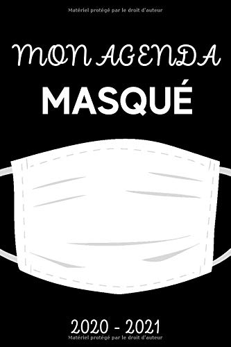 Mon Agenda Masqué 2020 – 2021:…