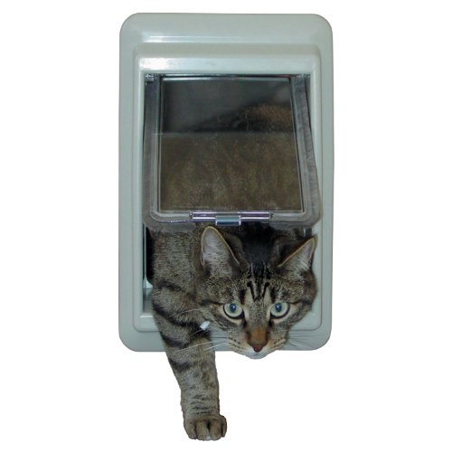 Ideal Pet Products E-Cat Electromagnetic Pet Door with 4 Way Lock, 7'' x 9'' Flap Size by Ideal Pet Products (Image #2)