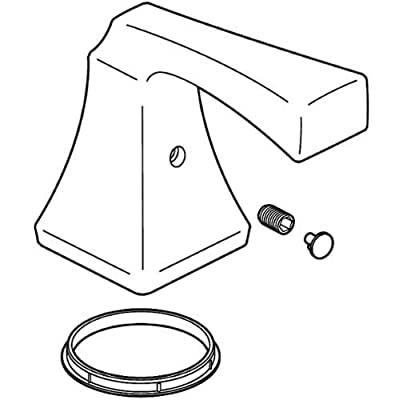 Delta RP53409 Dryden Collection Handle Assembly with Set Screw and Button,