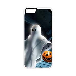 iPhone 6 Plus 5.5 Inch Cell Phone Case White Halloween ghost JSK723130