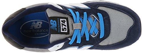 New Balance - Zapatillas para niña Azul azul Azul - Navy White