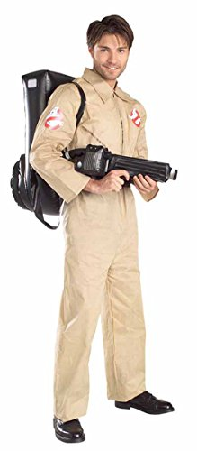 R16529 (Std Large) Adult Ghostbuster Costume (Ghostbusters Adult Plus Costume)