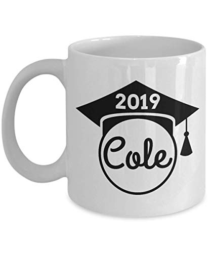 Cole Name Gifts Class of 2019 Graduation Gift Class of 19 11 oz Coffee Mug Personalized -