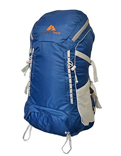 Guerrilla Packs Admiral Internal Framed Backpack, 40-Liter, Navy Blue For Sale