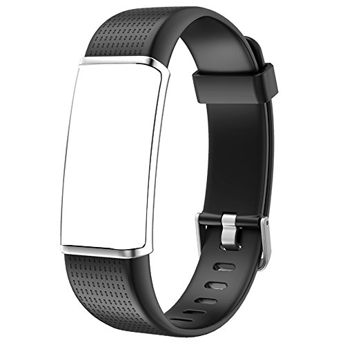 Willful Replacement Band Fitness Tracker with Color Screen 2018 Ver,SW352 Black