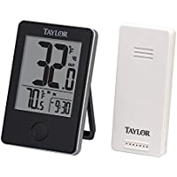 Taylor Precision Products Wireless Digital Indoor/Outdoor...