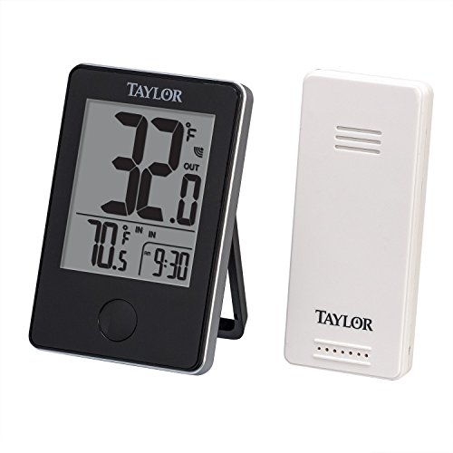 Taylor Precision Products Wireless Digital Indoor/Outdoor (Indoor Outdoor Temperature Gauge)