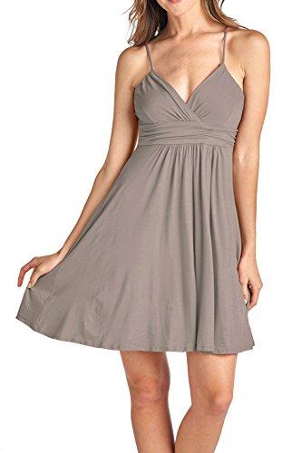 Sweetheart Dress Short Women's Mocha Beachcoco xX5qHwx