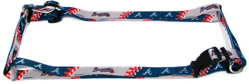 Hunter MFG 2.5cm Atlanta Braves Adjustable Harness, Large
