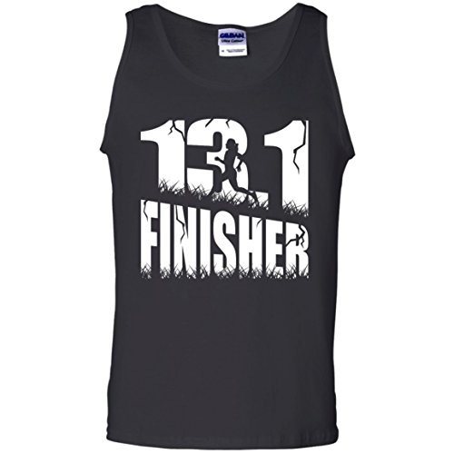 13.1 Finisher 100% Cotton Tank Top Unisex Perfect Gift for Runners Women or Man