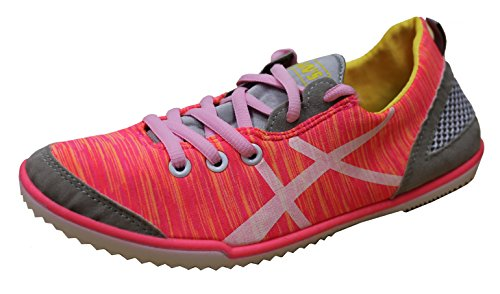 Han's Women's Breathable Fabric Trainer Mesh Striped Fashion Trainer Fabric Sneaker B06XRPLG5J Shoes 65079c