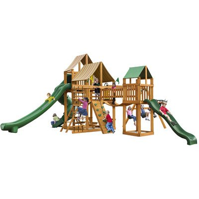 Gorillaplay Sets Home Backyard Playground Treasure Trove ...
