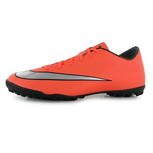 Nike Mercurial Victory V Astro Turf Fußball Turnschuhe Herren Mango/silber Fußball