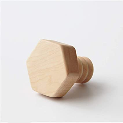 Ganchos para colgadores Perchero de pared de madera maciza ...