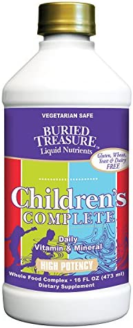 Buried Treasure Children s Complete Liquid Daily Multi Vitamin, Mineral and Herbal Formula 16 oz