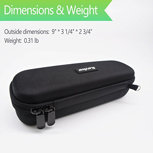 Oral B Toothbrush Hard Travel Case Carrying Bag, Fits for Oral-B Pro 1000, Pro 2000, Pro 3000, Pro 1500 Electric Toothbrush, Mesh Pocket for Accessories and Soft Lining inside the Case for Protection by GloryBear (Image #2)