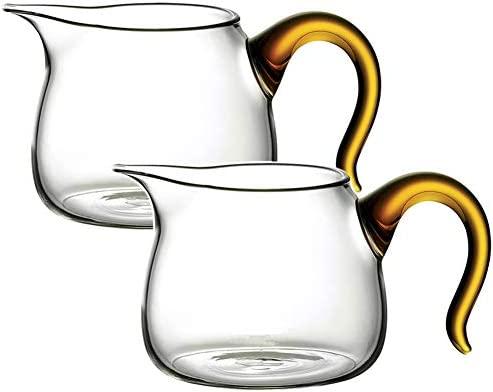 2 jarras de café con leche de 9 onzas, jarra para servir ...