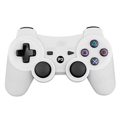 New Wireless Bluetooth Double Shock Game Controller for PS3 Controller with...