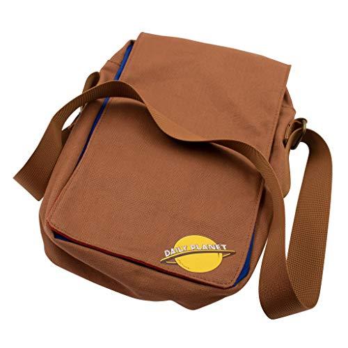 (Superman Daily Planet Reporter Bag | Adjustable Shoulder Strap | Action Figure Collection | Messenger & Shoulder Bag | Unisex Multi-Functional)