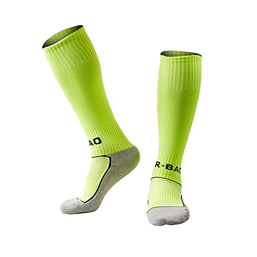 LITAO for Little Boys/Girls Outfits Compression Long Sport Soccer Socks 2 Pack (Kids/Youth Gifts) - Vt Kids Day