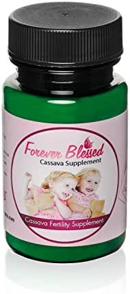 1 Month Supply Organic Cassava Root - Fertility Supplement for Twins - Certified Strongest Product on The Market (Vitamin for a.