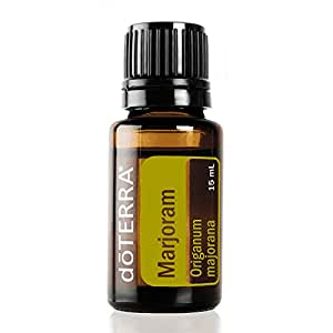 doTERRA Marjoram Essential Oil - Supports Healthy Immune System, May Promote Calming Properties, Nervous System, and Cardiovascular Health; For Diffusion, Internal, or Topical Use - 15 ml
