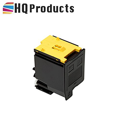 HQ Products Premium Compatible Replacement for Sharp MX-C30NTY Yellow Copier Toner Cartridge for use with Sharp MX C250, C300P, C300W, C301W Series (C250 Yellow Toner)