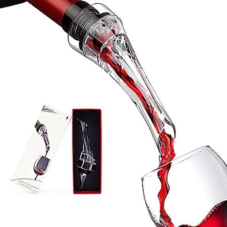 Aireador de vino, antigoteo, decantador de botellas, para decantar vino rojo y blanco, elegancia y simplicidad