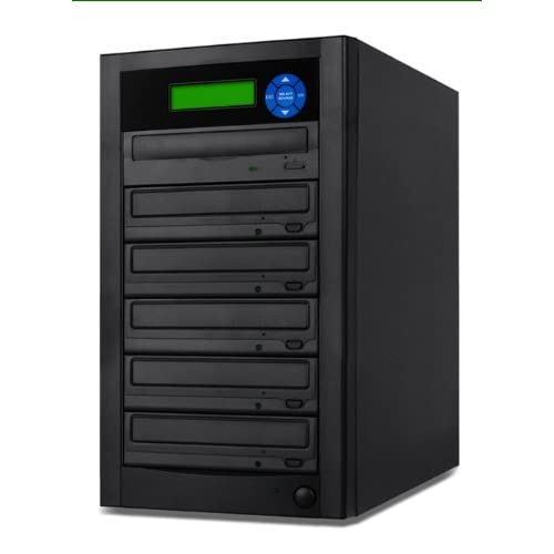 Image of Acclivity 1 to 5 Target DVD/CD Disc Copier Replication Duplicator with 24x Burners D05AOATBASAS