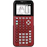 TI-84 Plus CE Color Graphing Calculator, Red