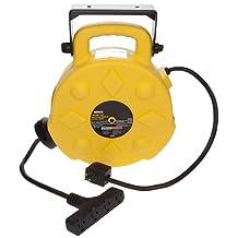 Bayco SL-8904-40 15-Amp Quad-Tap Retractable Reel