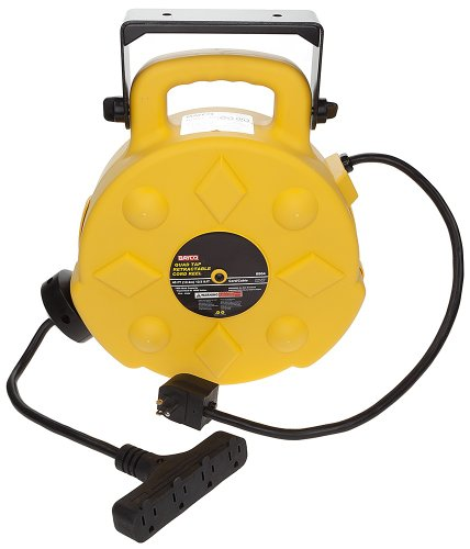 Bayco SL-8904-40 15-Amp Quad-Tap Retractable Reel by Bayco