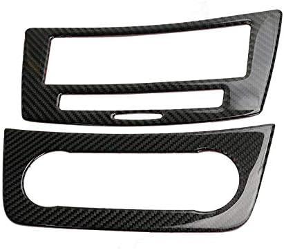 NO LOGO Carbon Fiber Car Styling Aria condizionata Pannello di copertine di CD Adesivi Forma for Mercedes Benz ML X166 GLE Coupe C292 GLS Accessori for Automobili Colore : Carbon Fiber