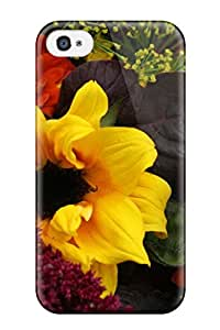 Andi Silverman Irumnzl6729ezvdC Case Cover Iphone 4/4s Protective Case Fall Flowers