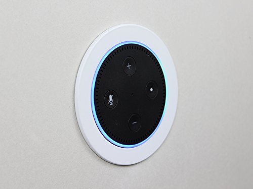 Voice Dock - Flush Mount In-Wall Bracket for Amazon Echo Dot (2nd Generation)