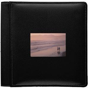Raika RO 113-F BLK Frame Front Single Page Album - Black by Raika®