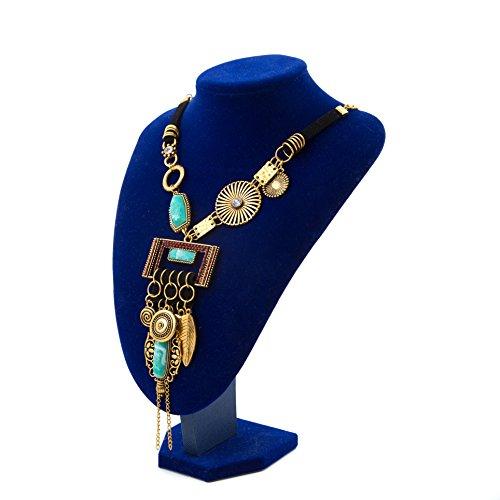 Miraculous Garden Bohemian Necklace Turquoise