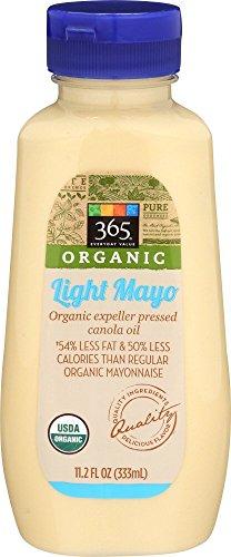 365 Everyday Value, Organic Light Mayo (Squeezable Bottle), 11.2 oz