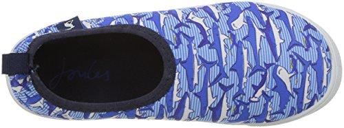 Tom joule Y_jnrpebbleb, Zapatillas Para Niños Blau (Shark Dive Stripe)