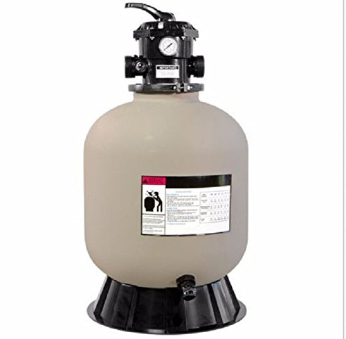 USA Premium Store 19'' Inch Swimming Pool Sand Filter With 7 Way Valve Inground Pond Fountain by USA Premium Store