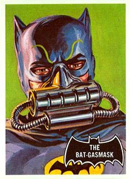 1966 Topps Batman Black Bat (Non-Sports) card#43 The Bat-gasmask of the Grade Near Mint from Topps
